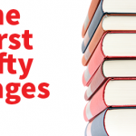 "Logo for ""The First Fifty Pages"" blog post series"